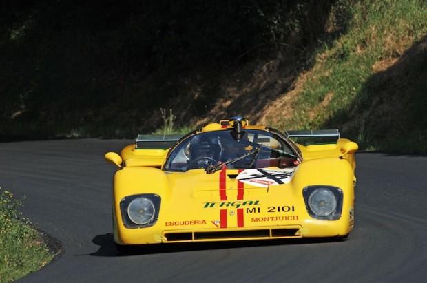 Dieter Roschmann also brought his ex-Scuderia Montjuich Ferrari 512M which raced at Le Mans in 1970.