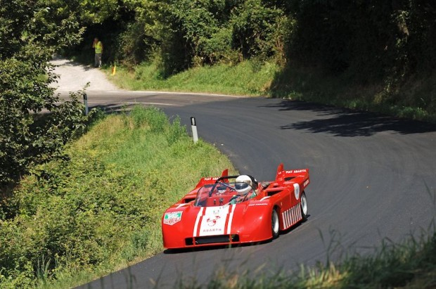 Another 3-liter V8 Abarth, Robert Fehlmann's ex-Anatoly Arutunoff car.