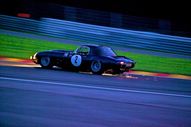 Jaguar E Type Lightweight Spa Eau Rouge