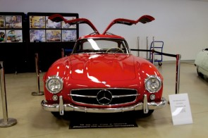 Mercedes-Benz 300SL Gullwing at Speed Style Beauty 2011