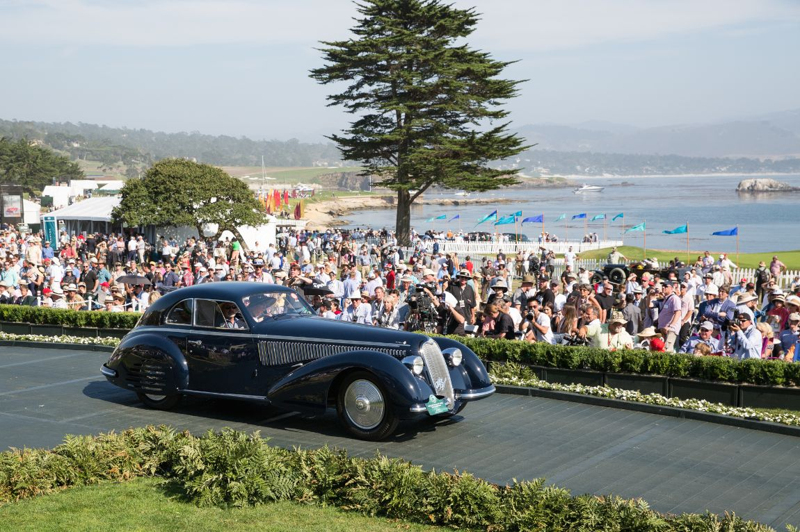 Strother MacMinn Most Elegant Sports Car - 1938 Alfa Romeo 8C 2900 Touring Berlinetta, Jon Shirley