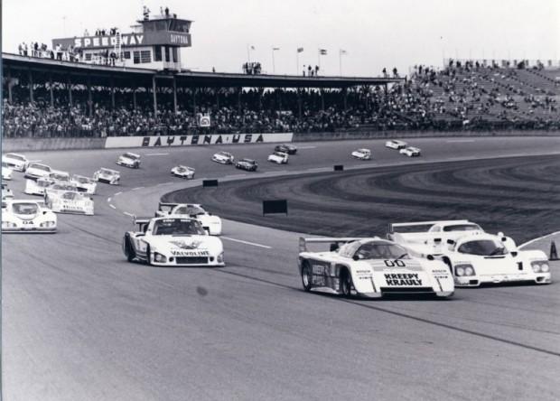 Start of the 1984 24 Hours of Daytona