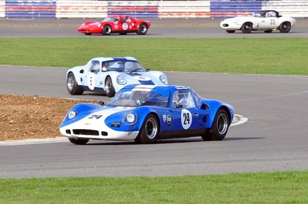 Steve Hodges finished 2nd in his Chevron B8