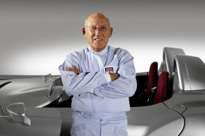 Stirling Moss at Race Retro 2013