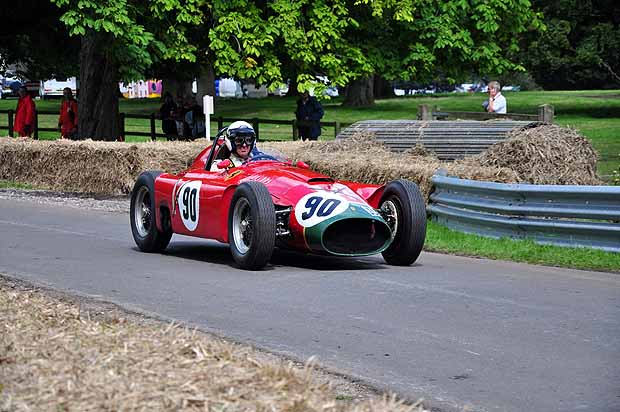 Superb 1955 Lancia-Ferrari D50 demonstrated by Willie Green