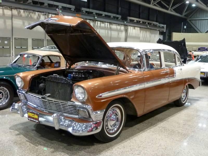 1956 Chevrolet Bel Air 4-Dr. Sedan