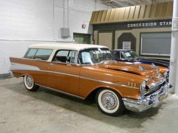 1957 Chevrolet Bel Air Nomad 2-Dr. Station Wagon