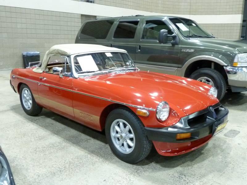 1978 MG B Convertible