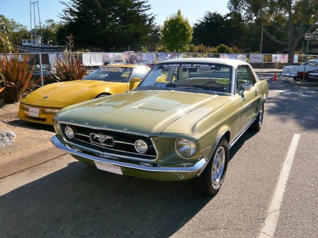 1967 Ford Mustang Notchback