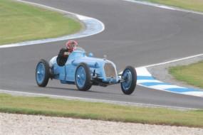 Talbot-Darracq Grand Prix Car on track