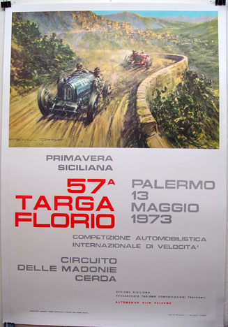 Targa Florio Poster