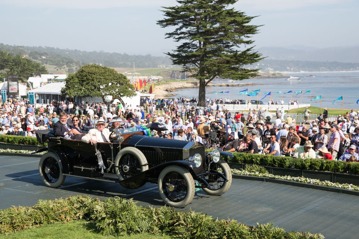 Antique, The Revs Program at Stanford Award and Most Elegant Open Car - 1914 Rolls-Royce Silver Ghost Kellner Torpedo Phaeton, Doug Magee Jr.