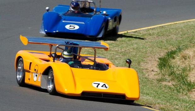 McLaren M8E and Lola T163