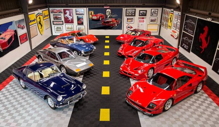 Tony Shooshani Ferrari Collection (photo: Mike Maez)