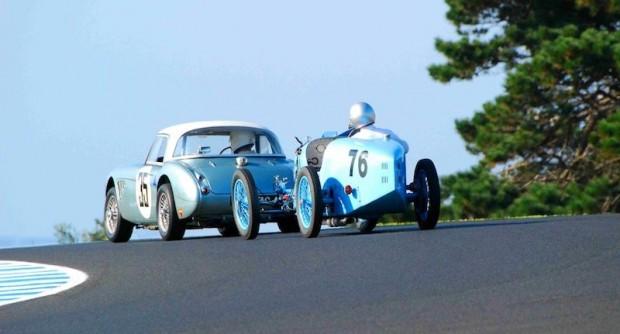 1929 Bugatti Type 37A GP and 1963 Austin Healey Sebring