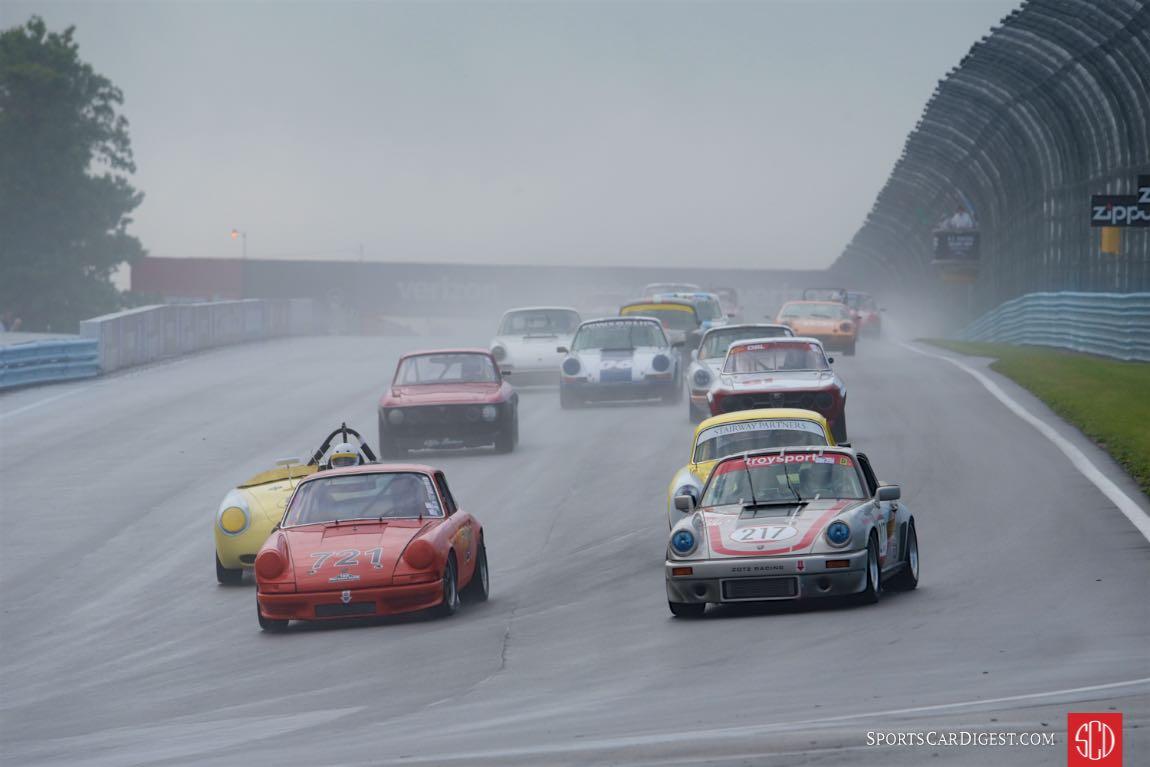 Wet start for the Hawk Performance Classic/Vintage Enduro