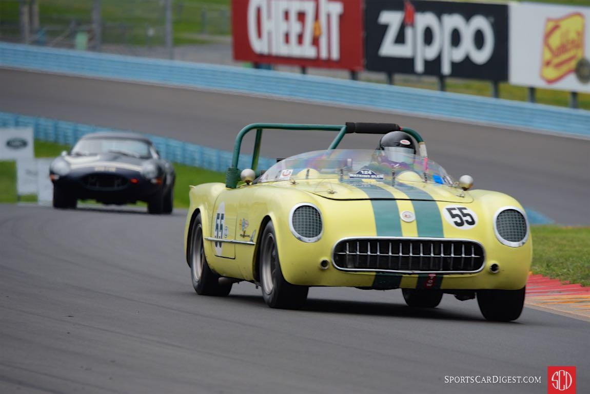 1955 Chevrolet Corvette - Bill Schwacke