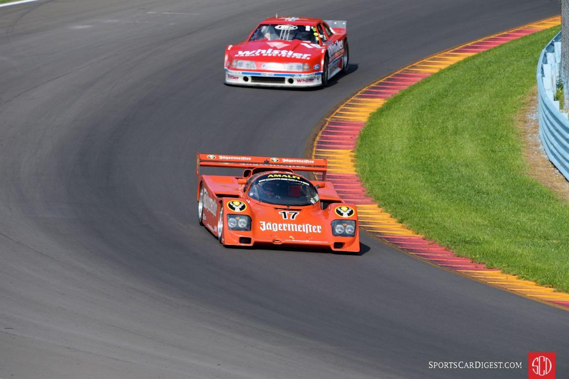 Jagermeister 1985 Porsche 962 - Bill Hawe