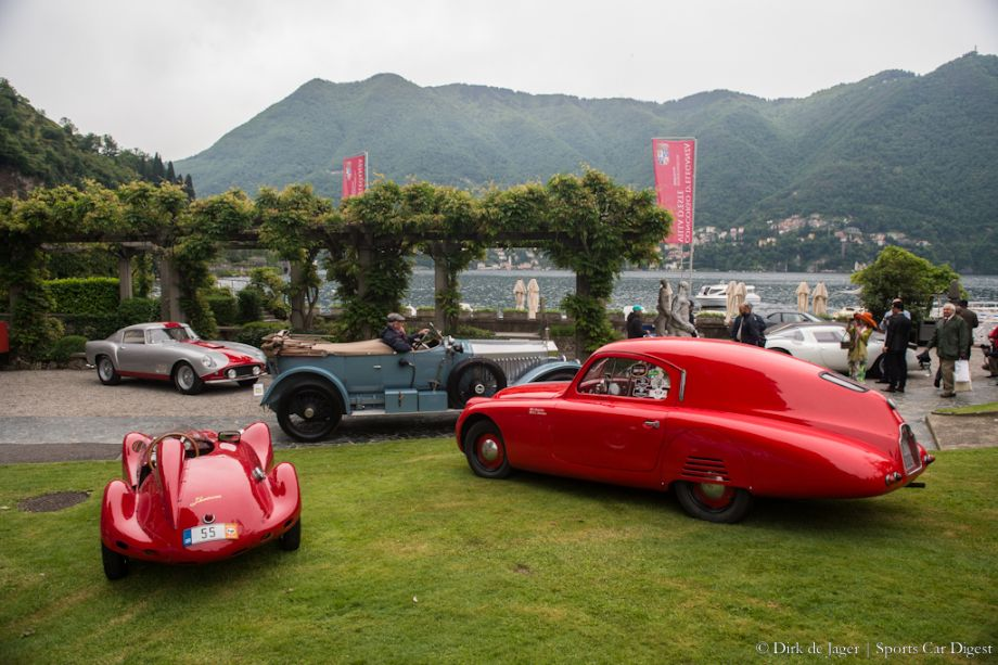 1955 Bandini 750 Siluro and 1938 Fiat 508 CS MM Coupe