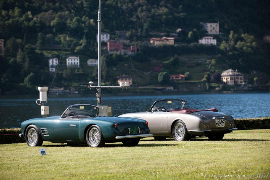 1955 Maserati A6G/54 Spider Zagato and 1952 Maserati A6G 2000 Frua Cabriolet