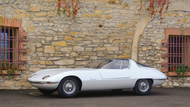 1963 Chevrolet Testudo Concept Car, Body by Bertone