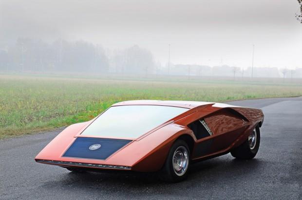 1970 Lancia Stratos HF Zero Concept Car, Body by Bertone