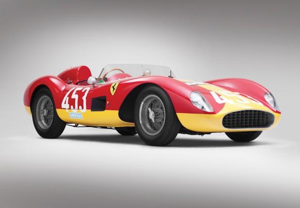 1957 Ferrari 500 TRC, Body by Scaglietti