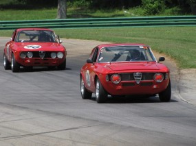 Alfa Romeo GTV at VIR Gold Cup Historic Races 2010