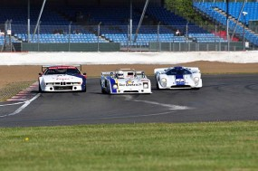 Varied field BMW M1, Chevron B21 and Lola T70 battle it out. Photo: Simon Wright