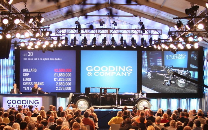 2010 Gooding  Company Amelia Island Auction Results