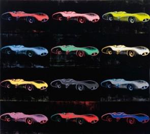 Mercedes-Benz W 196 R Grand Prix Car, Andy Warhol