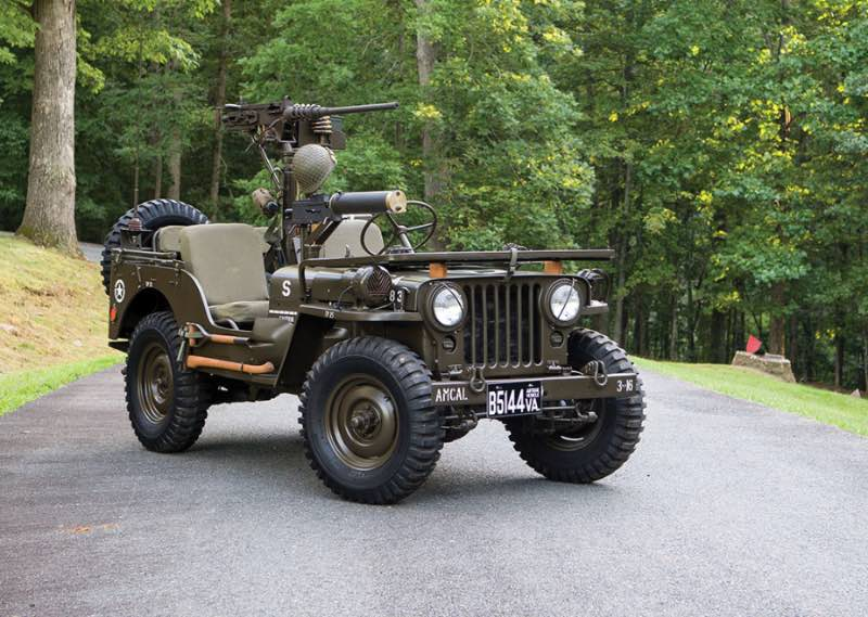 1951 Willys M38 Jeep Utility
