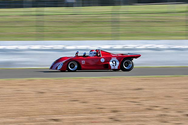 1st Place - Bobby Rahal in his Lola T290. Photo: Simon Wright