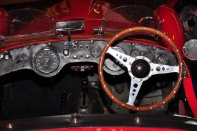 1950 Healey Silverstone Steering Wheel