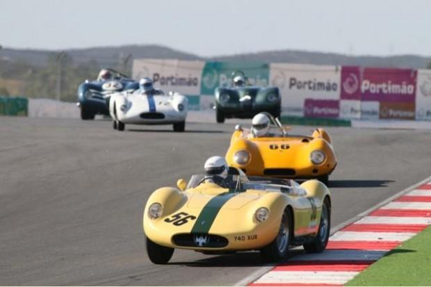 Maserati 200SI of Gordon McCulloch finished third