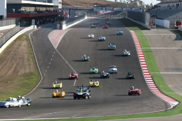 Full field for the Sir Stirling Moss Trophy Race