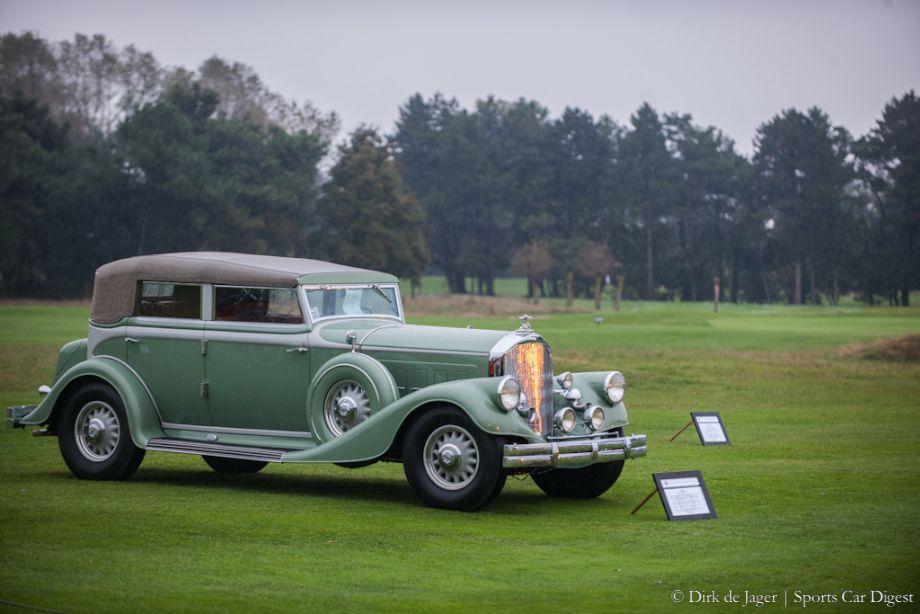 1933 Pierce-Arrow V12 Convertible Sedan LeBaron, first owned by Carole Lombard