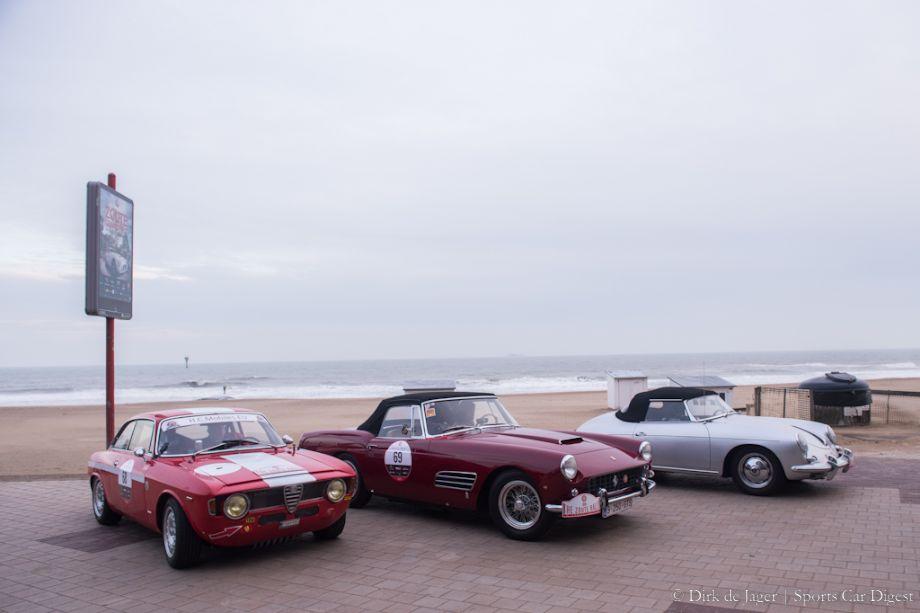 1964 Alfa Romeo Giulia and 1960 Ferrari 250GT Pininfarina Cabriolet