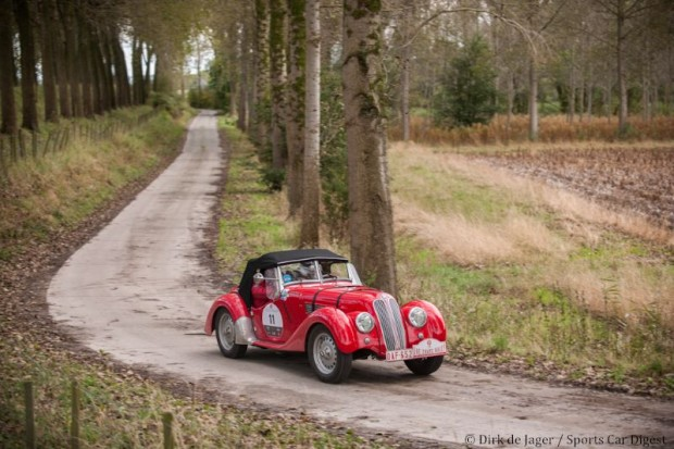 BMW 328 on Zoute Grand Prix Rally 2012