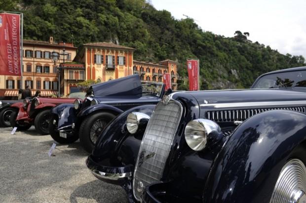 Alfa Romeos at 2009 Concorso d'Eleganza Villa d'Este