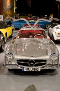 1956 Mercedes-Benz 300SL Gullwing is part of the Antique Auto Museum's Sports Car Exhibit