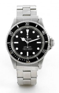 Steve McQueen Rolex Submariner Sold for $234,000