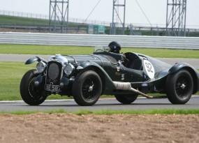 Aston Martin at Bentley Drivers Club Race Meeting
