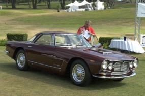 <strong>La Dolce Vita Award for Best Maserati, 1960 Monterosa-bodied 5000 GT, Thomas Coady, Roberts, IL</strong>