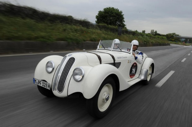 BMW 328 participating in the 2009 Mille Miglia Storica
