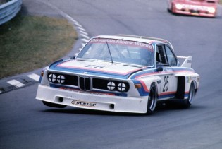 Hans Stuck in the BMW CSL