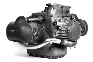 BMW Motorcycle Type 255 Engine with Compressor