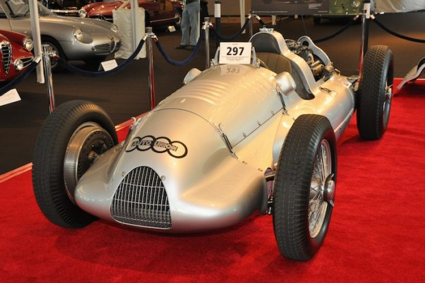 <strong>1939 Auto Union 3-liter 'D-Type' V12 Grand Prix Racing Single Seater – Did not sell at high bid of $6,000,000 versus pre-sale estimate of $8,000,000 - $10,000,000.  </strong>Ex-works, Hans Stuck and Rudolf Hasse; finished fifth in the 1939 German EifelRennen event on the North Circuit of the Nürburgring and sixth in the Grand Prix de l'Automobile Club de France around the superfast public road course at Reims-Gueux.