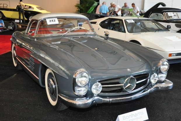 <strong>1961 Mercedes-Benz 300SL Roadster Sold for $804,500 versus pre-sale estimate of $550,000 - $650,000.</strong> Ex-Otis Chandler, very original with only 7,600 miles from new.