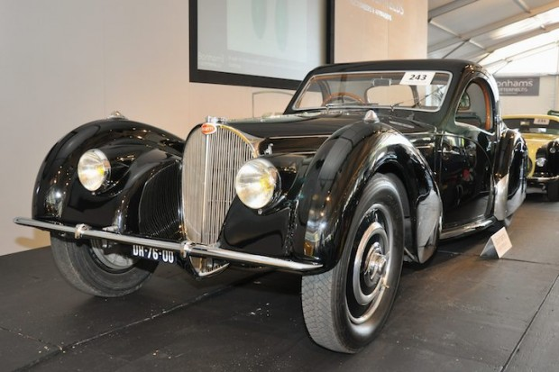 <strong>1937 Bugatti Type 57S Coupe – Did not sell versus unavailable pre-sale estimate. </strong>Coachwork by Gangloff of Colmar and equipped with supercharger; won Trofeo Girard-Perregaux – the special prize of the jury at 2008 Concorso d'Eleganza Villa d'Este.